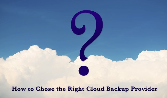 Choose right backup provider guide
