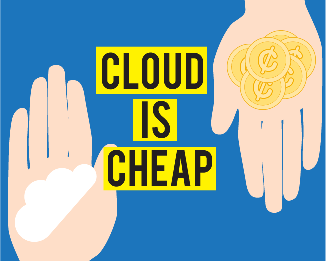 What Makes the Cloud so Cost Effective?