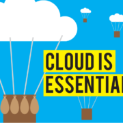 Think of the Cloud as a Utility - Why The Cloud is an Essential Service for Information Based Companies