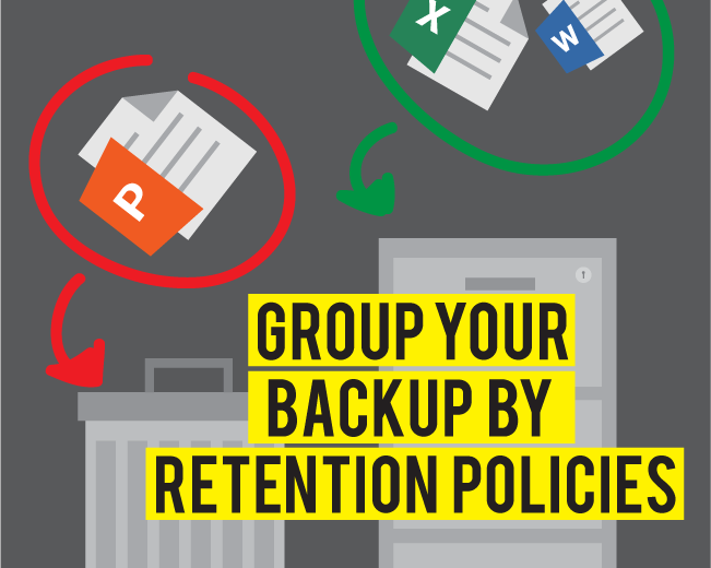 Categories of Data and Retention Policies