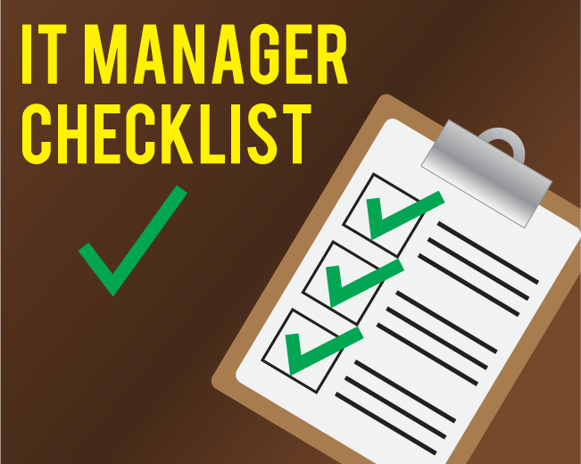Things You Should Review as an IT Manager Every Year