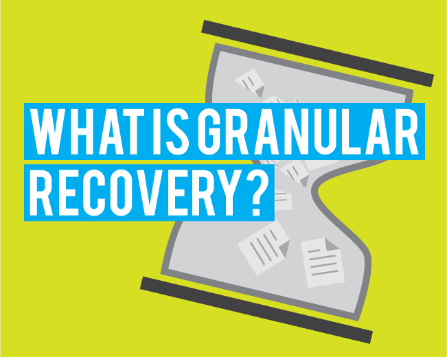 The Role of Granular Recovery Technology in a Data-Driven World