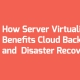 How Server Virtualization Benefits ​​Cloud Backup and Disaster Recovery