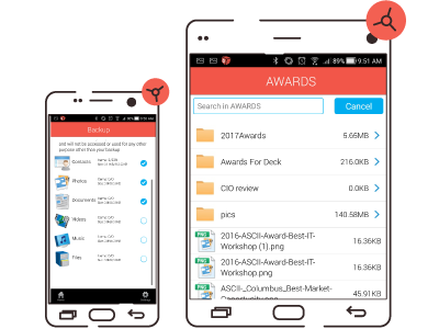 Data Deposit Box Android App