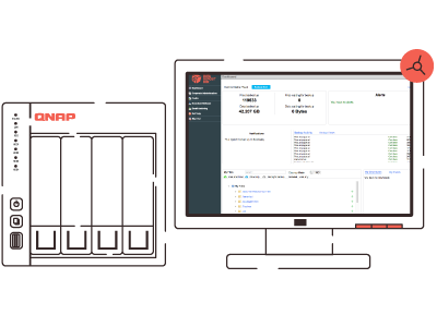 Data Deposit Box QNAP Cloud Backup App