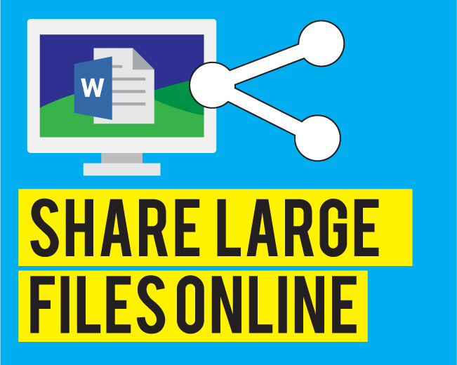Top 4 ways to share large files online