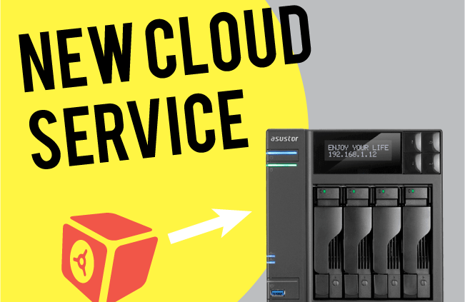 ASUSTOR and DataDepostiBox New Cloud Service